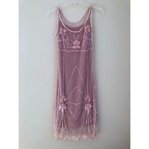 Gorgeous elegant pink dress